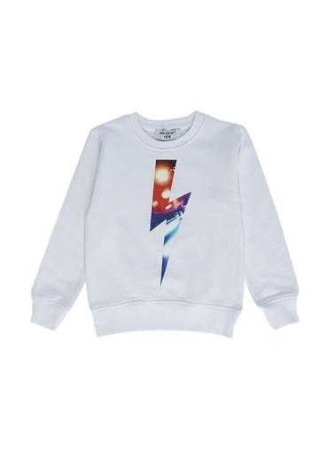 Neil Barrett Sweatshirt Beyaz